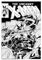 Uncanny X-Men #133 Cover Recreation