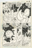 Action Comics 589 pg 14 Original Art (DC, 1987) Superman & Green Lantern Corps Comic Art