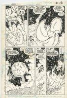 Action Comics 589 pg 14 (1987) Superman & Green Lantern Corps Comic Art