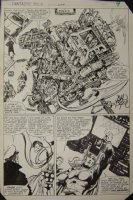 Fantastic Four 244 pg 7 Original Art (Marvel, 1982) Galactus Trilogy