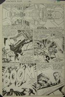 Fantastic Four 244 pg 8 Original Art (Marvel, 1982) Galactus Trilogy