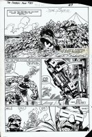 Fantastic Four #264 pg 20 (1984) Last Thing in FF