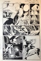 Uncanny X-Men 132 pg 23 Original Art (Marvel, 1980) Wolverine, Storm vs Hellfire Club Comic Art