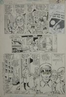 Action Comics 652 pg 2 Original Art (DC, 1990) Comic Art