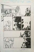 Avengers 23 pg 17 (1999) Comic Art