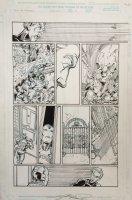 Avengers 24 pg 9 (2000) Comic Art
