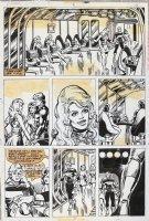 Logan's Run 3 pg 2 Original Art (Marvel, 1977) 'Sanctuary!?' Comic Art