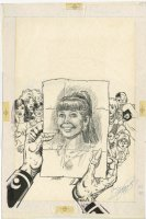 New Titans 51 Cover (1988)  Comic Art
