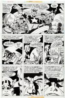 Captain America 200 pg 30 Original Art (Marvel, 1976) Bicentennial Anniversary Issue ! ! ! Comic Art