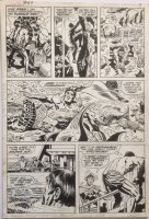 Fantastic Four 97 pg 8 Original Art (Marvel, 1970) underwater action Comic Art