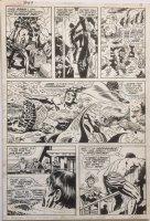 Fantastic Four 97 pg 8 (1970) underwater action Comic Art