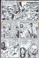 Mister Miracle 13 pg 2 Original Art (DC, 1973) Cover Scene Comic Art
