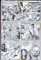 Mister Miracle 13 pg 2 (DC, 1973) Cover Scene Comic Art