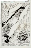 Fantastic Four 316 pg 22 Splash Original Art (Marvel, 1988) Comic Art