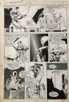 Marvel Fanfare 3 pg 10 Original Art (Marvel, 1982) Swashbucklers Hawkeye & El Aguila Comic Art