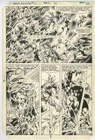 Thor Annual 10 pg 28 Original Art (Marvel, 1982) Half-Splash Comic Art