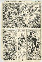 THOR Annual 10 pg 28 (1982) Half-Splash Comic Art