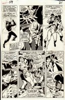 Avengers 59 pg 16 Original Art (Marvel, 1968) 1st App Yellowjacket, 3rd App Vision