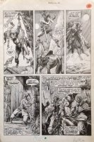 Savage Sword of Conan Magazine 16 pg 16 Original Art (Marvel, 1976) Comic Art
