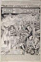 Thor 276 pg 1 Splash Original Art (Marvel, 1978) RAGNAROK Comic Art