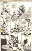 Avengers Annual 22 pg 20 (Marvel, 1993) Comic Art
