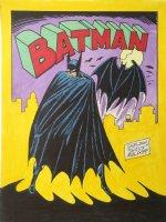 Batman Color Commission - signed Comic Art
