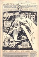 Green Lantern and Green Arrow 102 pg 1 Splash Original Art (DC, 1978)