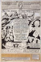 Green Lantern and Green Arrow 112 pg 1 Splash Original Art (DC, 1979)