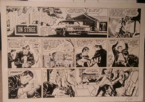 On Stage Sunday April 26, 1970 Mary Perkins Comic Art