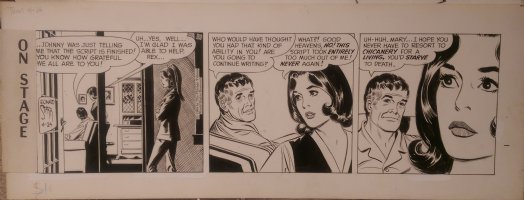 On Stage Daily April 24, 1969 Mary Perkins Comic Art