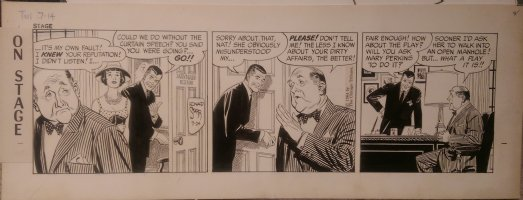 On Stage Daily July 14, 1964 Mary Perkins Comic Art