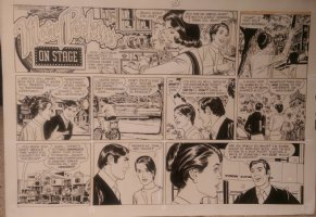 On Stage Sunday Oct 12, 1969 Mary Perkins Comic Art