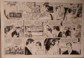 On Stage Sunday Oct 12, 1969 Mary Perkins Comic Art