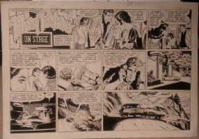 On Stage Sunday Aug 3, 1969 Mary Perkins Comic Art