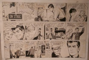On Stage Sunday May 23, 1965 Mary Perkins Comic Art