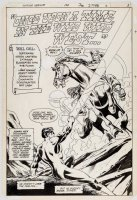 Justice League of America 198 pg 3 Splash Original Art (DC, 1982) Roll Call --Jonah Hex, Green Lantern