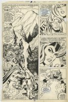 Marvel Team-Up Annual 2 pg 22 Half-Splash Original Art (Marvel, 1979) Soviet Super Soldiers Comic Art
