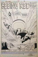 Justice League International 9 pg 1 Splash (DC, 1988) Guy Gardner, Booster Gold, Martian Manhunter
