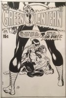 Green Lantern 74 Cover (DC, 1969) vs Sinestro