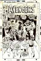 Avengers 91 Cover (Marvel, 1971) Kree-Skrull War